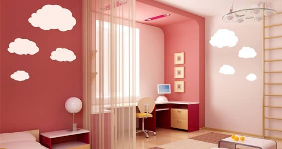 My Clouds wall decals