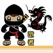 Ninjas and Dragons children wall appliques