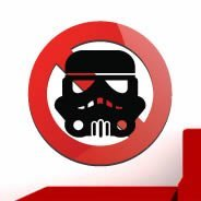 No Empire Trooper wall decal