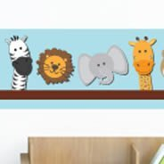 Noah's Ark sticker vinyl borders