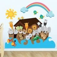 Noah&#39s Ark wall decals