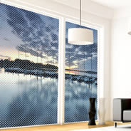 Sunset Harbor window decals
