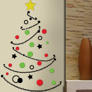 Decorate the Tree home wall decals