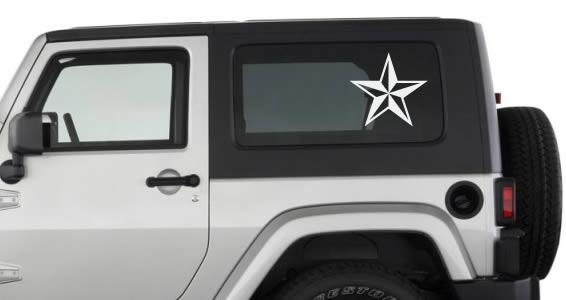 Northcal Star car decals
