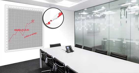 Number Graph Dry Erase Decal