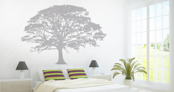 Oak Tree wall decals