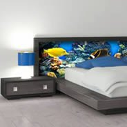 Ocean Sea Fish Dry-erase Furniture Skin Stickers