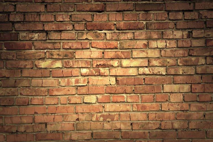 Dry Erase Old Bricks Wall Decal