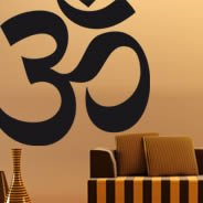 Om, Sweet Om asian wall decals