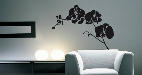 Flower Wall Decals - Floral Wall Stickers for your Home or Office