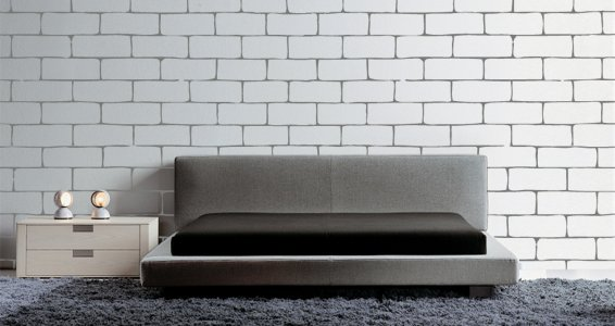 Bricks Outlined wall decals