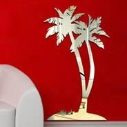 Palm Tree wall mirrors