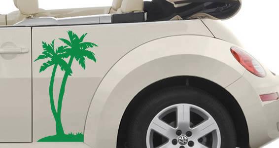 Palm Tree car decals