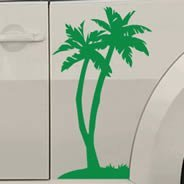 Palm Tree car decals