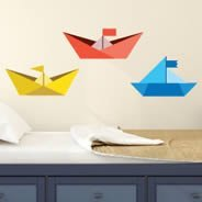 Paper Boats decal