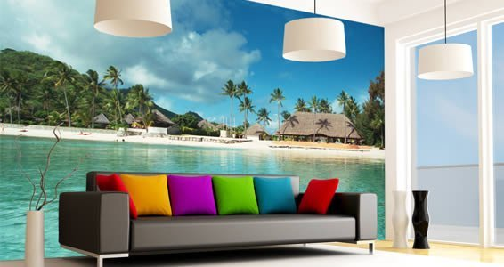 Wall Murals paradise quality wall murals | dezign with a z
