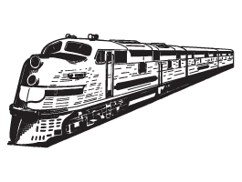 Passenger Train decals