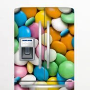 Candy Dry Erase Fridge Decal Skins