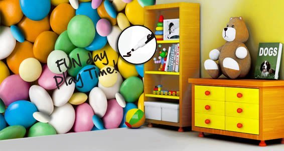 Candies Dry Erase Furniture Decal Skin