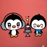Cute Penguins wall stickers by Charuca