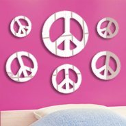 Peace & Love Acrylic Mirrors