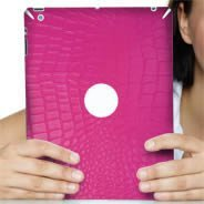 Pink Croco Ipad decals skin