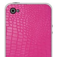 Pink Croco iPhone decals skin