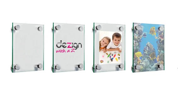 Clear Dry Erase Plexiglass Stand Off