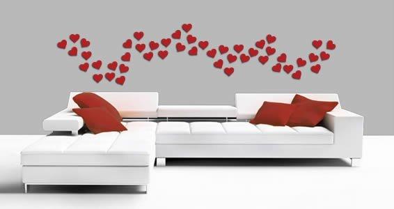 Mini Hearts appliques