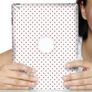 Polka Dots Ipad decals skin