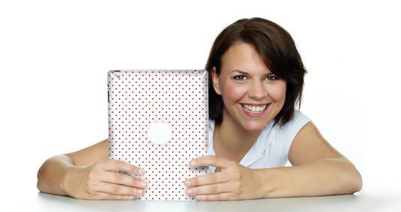 Polka Dots iPad skins