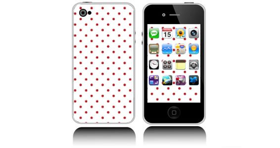 Polka Dots skins for iPhones