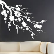 Cherry Blossom wall stickers & Large Wall Decals - Giant Wall Stickers XXL | Dezign With a Z