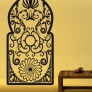 Wroughtiron Gate vinyl wall graphics