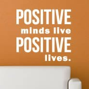 Positive quote decals