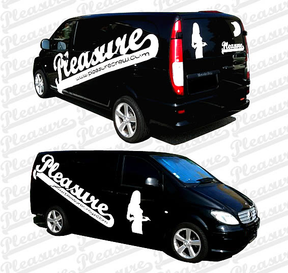 ... examples of what you can do with custom lettering stickers and decals