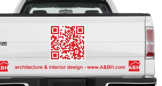 QR Code car decals