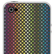 Rainbow Dots iPhone skins