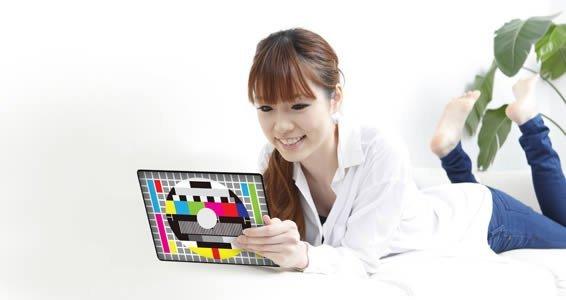 Rainbow Screen iPad decals skin