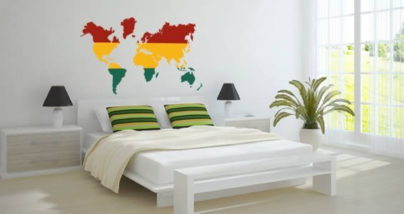 Rasta world map decal dezign with a z gumiabroncs Image collections