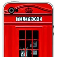 Red Booth iPhone decals skins