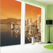 Rio do Janeiro see through  window decals