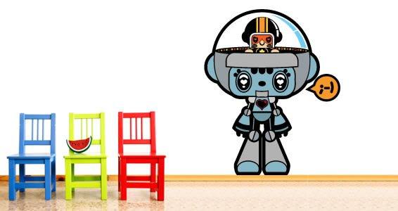 My Robot wall sticker