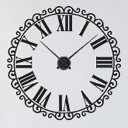 Classic Roman Clock decal (with mechanism)