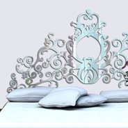 Grand Royal Headboard wall mirrors