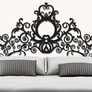 Grand Royal Headboard wall appliques