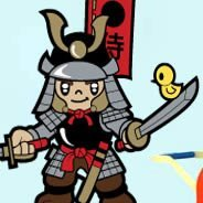 Little Samurai! wall decals by Charuca