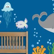 Sea Creatures II wall sticker pack