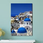 Sea Fresco Village photo canvas