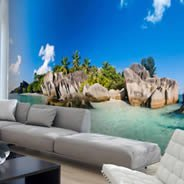 Seychelles Islands wall mural